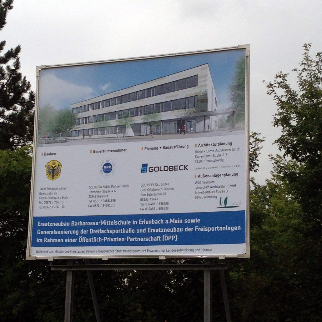 Spatenstich Barbarossa-Mittelschule, Erlenbach a.Main – WLG Wollborn ...